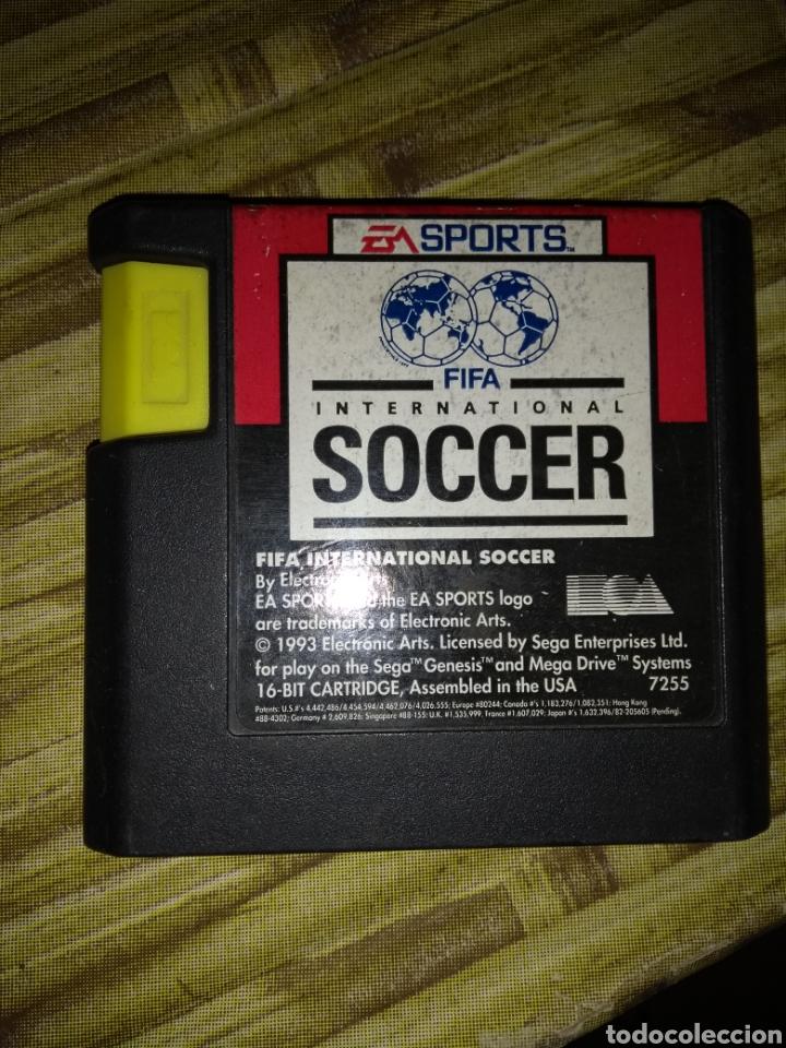 FIFA SOCCER.SEGA MEGADRIVE (Juguetes - Videojuegos y Consolas - Sega - MegaDrive)