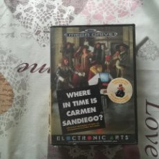 Videojuegos y Consolas: WHERE IN TIME IS CARMEN SANDIEGO MEGADRIVE . Lote 148748286