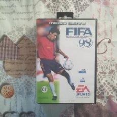 Videojuegos y Consolas: FIFA 98 MEGADRIVE. Lote 150237150
