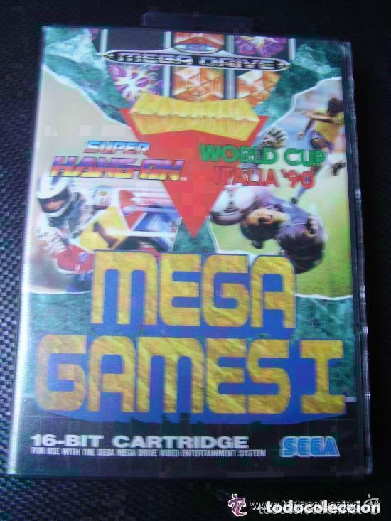 JUEGO DE MEGA DRIVE : MEGA GAMES I , TETRIS, DEPORTES, MUNDIAL DE FUTBOL ITALIA´90. (Juguetes - Videojuegos y Consolas - Sega - MegaDrive)