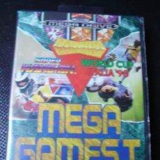 Videojuegos y Consolas: JUEGO DE MEGA DRIVE : MEGA GAMES I , TETRIS, DEPORTES, MUNDIAL DE FUTBOL ITALIA´90.. Lote 150253726