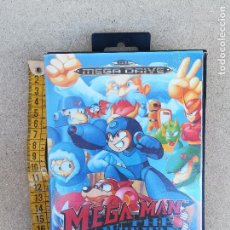 Videojuegos y Consolas: MEGA MAN DE WILLY WARS PAR MEGADRIVE, REPRODUCCION COMPLETA - MEGA DRIVE SEGA - MEGAMAN. Lote 151848821