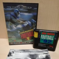 Video Games and Consoles - JUEGO SEGA MEGA DRIVE / MEGADRIVE - JOHN MADDEN FOOTBALL 92 - 150975670