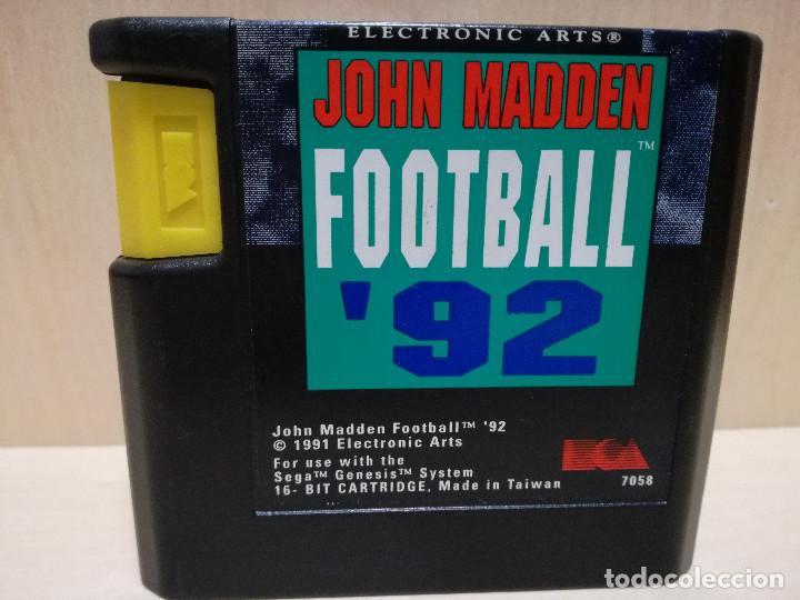Videojuegos y Consolas: JUEGO SEGA MEGA DRIVE / MEGADRIVE - JOHN MADDEN FOOTBALL 92 - Foto 5 - 150975670