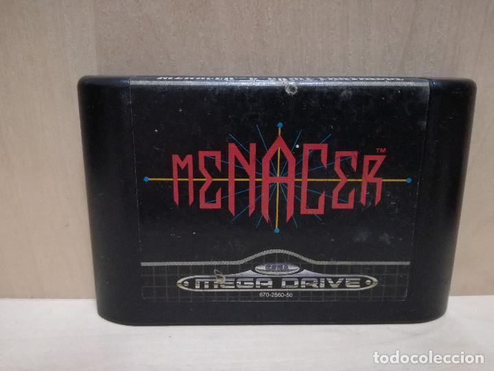 JUEGO SEGA MEGA DRIVE / MEGADRIVE - MENACER (Juguetes - Videojuegos y Consolas - Sega - MegaDrive)
