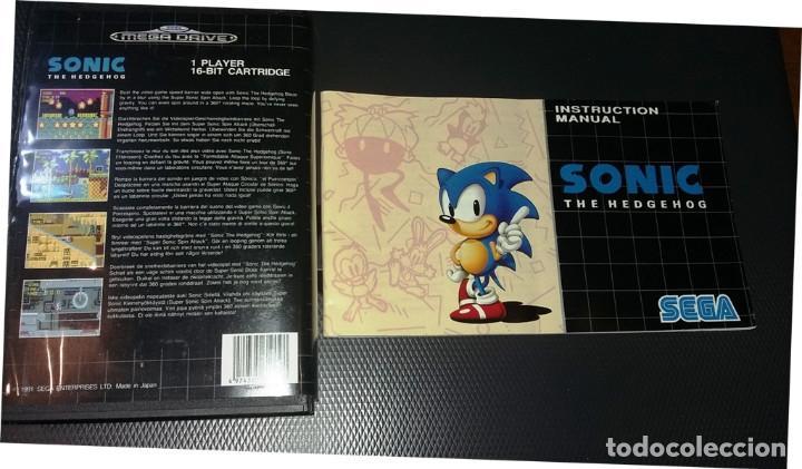 Videojuegos y Consolas: SONIC THE HEDGEHOG MEGA DRIVE 16 BIT - Foto 3 - 151010054