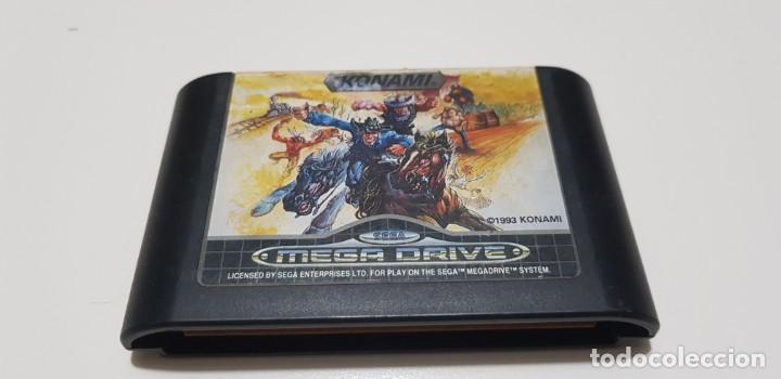 J- SUNSET RIDERS SEGA MEGA DRIVE RARO Y DIFICIL (Juguetes - Videojuegos y Consolas - Sega - MegaDrive)