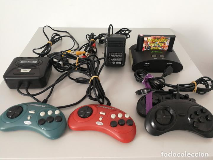 LOTE CONSOLAS MINI RADICA AT GAMES MEGADRIVE (Juguetes - Videojuegos y Consolas - Sega - MegaDrive)