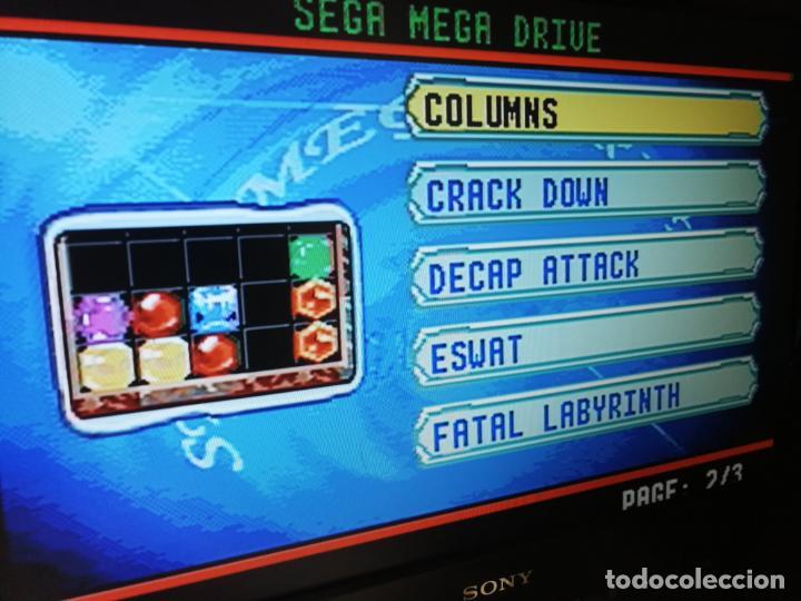 Videojuegos y Consolas: LOTE CONSOLAS MINI RADICA AT GAMES MEGADRIVE - Foto 4 - 151794306
