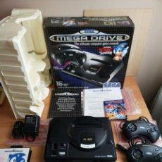 Videojuegos y Consolas: SEGA MEGA DRIVE COMO NUEVA COMPLETA CAJA EXCELENTE IMPECABLE COMO NUEVA COMPLETA SEGA MEGA DRIVE 19. Lote 151884882