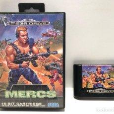 Videojuegos y Consolas: MERCS SEGA MEGA DRIVE. Lote 152337750