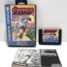 Videojuegos y Consolas: COMIX ZONE SEGA MEGA DRIVE. Lote 154337470