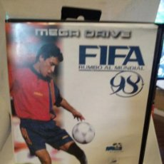 Videojuegos y Consolas: JUEGO CONSOLA MEGADRIVE MEGA DRIVE SEGA FIFA 1998 98 SOCCER FUTBOL RAUL ESPAÑA REAL MADRID. Lote 154440694