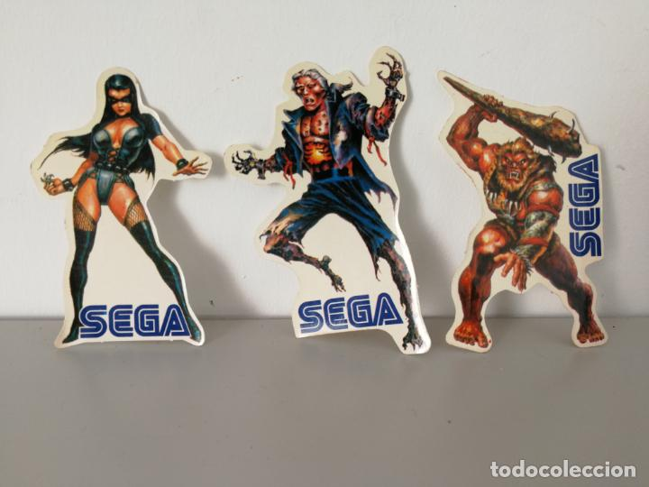 LOTE PEGATINAS ETERNAL CHAMPIONS DE SEGA (Juguetes - Videojuegos y Consolas - Sega - MegaDrive)