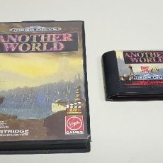 Videojuegos y Consolas: J- ANOTHER WORLD SEGA MEGA DRIVE 1991 DIFICIL!!!!!!. Lote 155039778