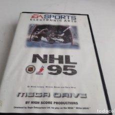 Videojuegos y Consolas: JUEGO PARA SEGA MEGADRIVE NHL 95. Lote 155081346