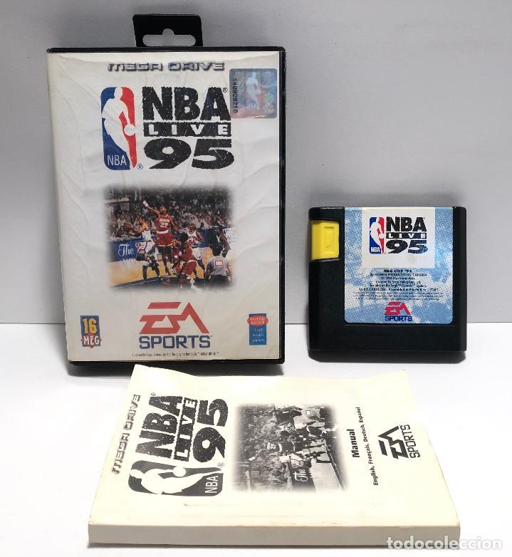NBA LIVE 95 SEGA MEGA DRIVE (Juguetes - Videojuegos y Consolas - Sega - MegaDrive)