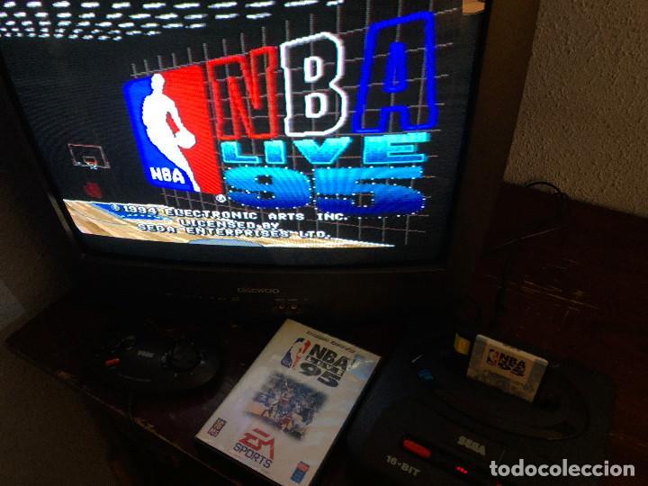 Videojuegos y Consolas: NBA Live 95 Sega Mega Drive - Foto 3 - 155137602