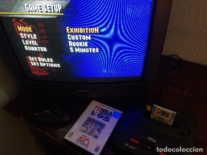 Videojuegos y Consolas: NBA Live 95 Sega Mega Drive - Foto 5 - 155137602