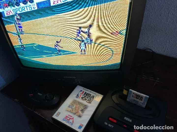 Videojuegos y Consolas: NBA Live 95 Sega Mega Drive - Foto 7 - 155137602