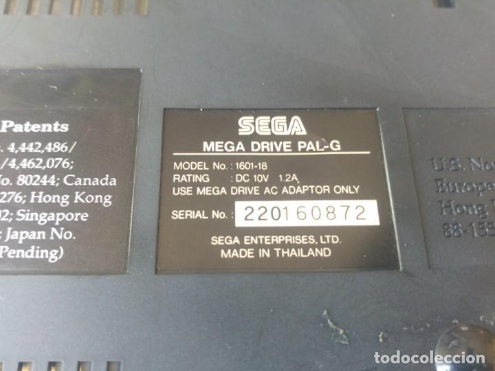 Videojuegos y Consolas: SEGA MEGADRIVE CON MANDO Y CABLES , ORIGINAL 100% Y FUNCIONANDO - Foto 8 - 155464450