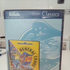 Videojuegos y Consolas: JUEGO SEGA MEGA DRIVE GENERAL CHAOS. Lote 156740202