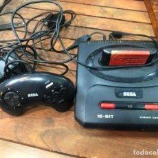 Videojuegos y Consolas: VIDEOCONSOLA SEGA MEGA DRIVE II COMPLETA CON UN JUEGO. Lote 158448910