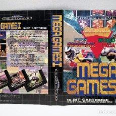 Videojuegos y Consolas: CARATULA MEGA GAMES I SEGA MEGA DRIVE. Lote 158703902