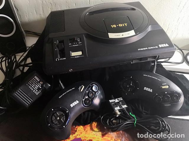 SEGA MEGADRIVE I - CONSOLA (Juguetes - Videojuegos y Consolas - Sega - MegaDrive)