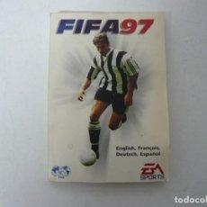 Videojuegos y Consolas: FIFA 97 - MANUAL DEL JUEGO. Lote 158914398