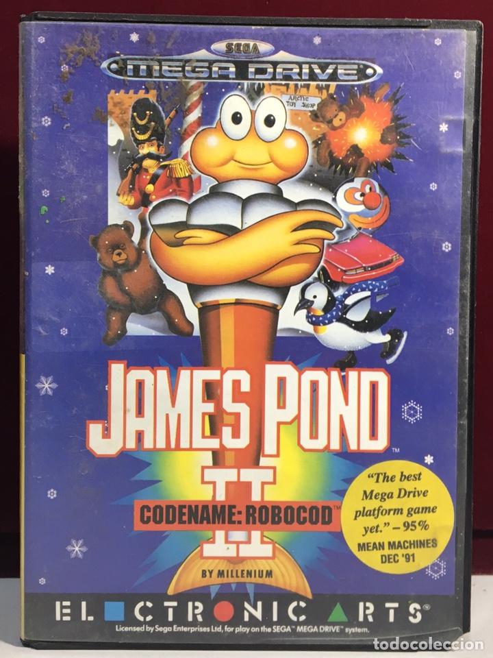 MEGADRIVE JAMES POND II SIN MANUAL (Juguetes - Videojuegos y Consolas - Sega - MegaDrive)