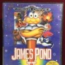 Videojuegos y Consolas: MEGADRIVE JAMES POND II SIN MANUAL. Lote 160328370