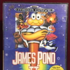 Video Games and Consoles - MEGADRIVE JAMES POND II SIN MANUAL - 160328370