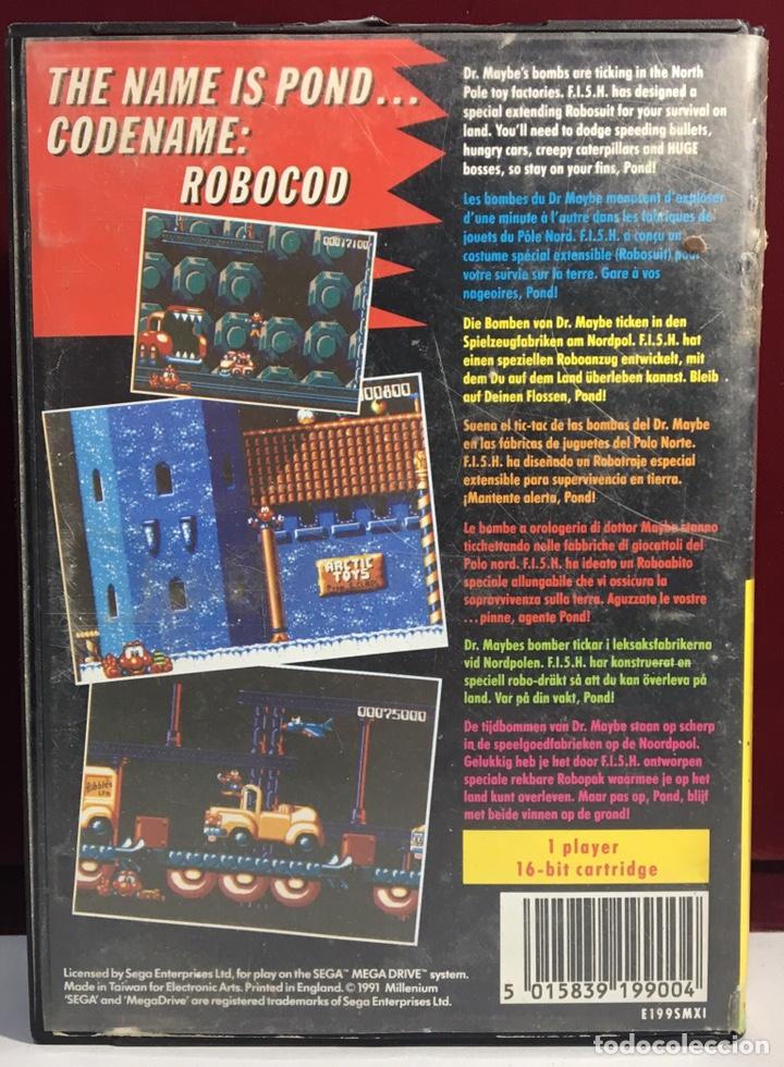 Videojuegos y Consolas: MEGADRIVE JAMES POND II SIN MANUAL - Foto 2 - 160328370