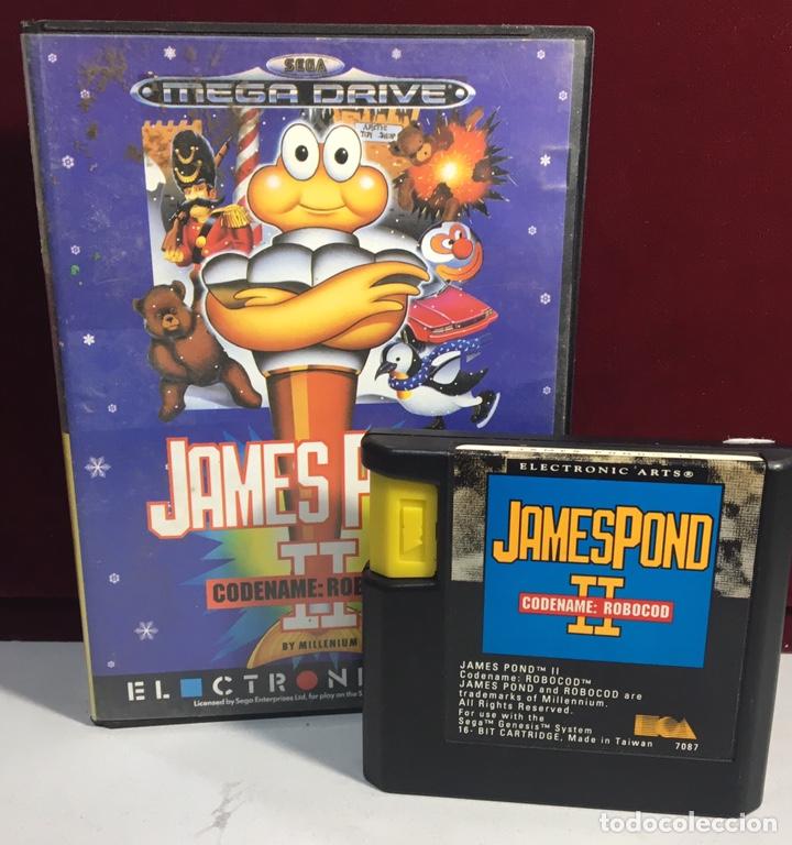 Videojuegos y Consolas: MEGADRIVE JAMES POND II SIN MANUAL - Foto 3 - 160328370