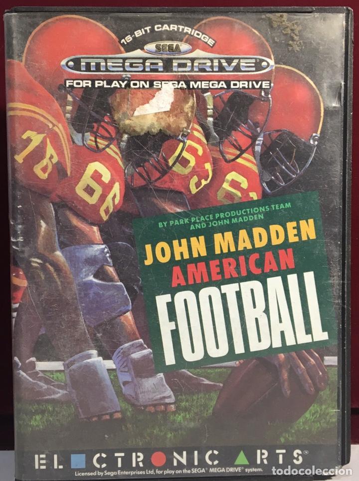 MEGADRIVE JOHN MADDEN AMERICAN FOOTBALL SIN MANUAL (Juguetes - Videojuegos y Consolas - Sega - MegaDrive)