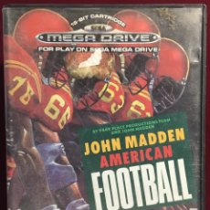 Video Games and Consoles - MEGADRIVE JOHN MADDEN AMERICAN FOOTBALL SIN MANUAL - 160328752