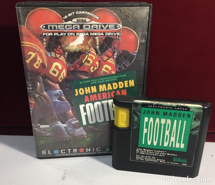 Videojuegos y Consolas: MEGADRIVE JOHN MADDEN AMERICAN FOOTBALL SIN MANUAL - Foto 3 - 160328752