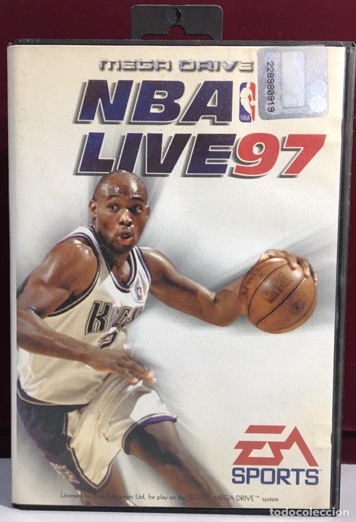 MEGADRIVE NBA LIVE 97 SIN MANUAL (Juguetes - Videojuegos y Consolas - Sega - MegaDrive)