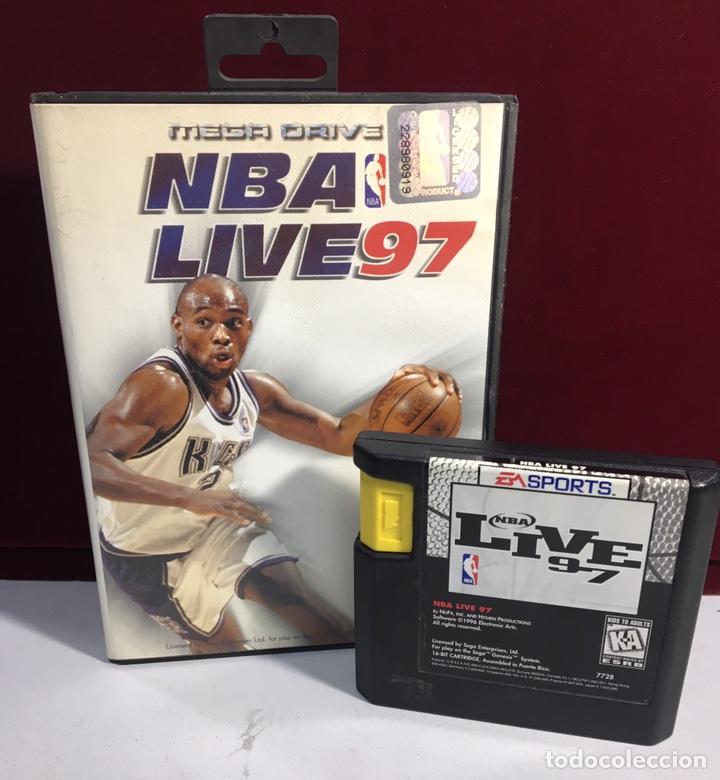Videojuegos y Consolas: MEGADRIVE NBA LIVE 97 SIN MANUAL - Foto 3 - 160331017