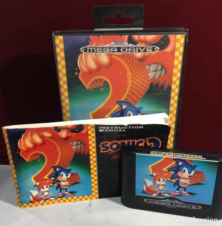 Video Games and Consoles: MEGADRIVE SONIC 2 THE HEDGEHOG 2 - Foto 3 - 160331142