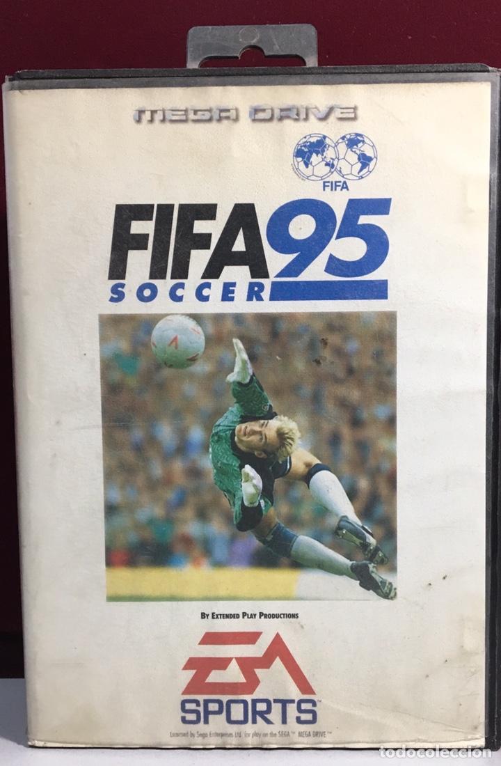 MEGADRIVE FIFA 95 SIN MANUAL (Juguetes - Videojuegos y Consolas - Sega - MegaDrive)