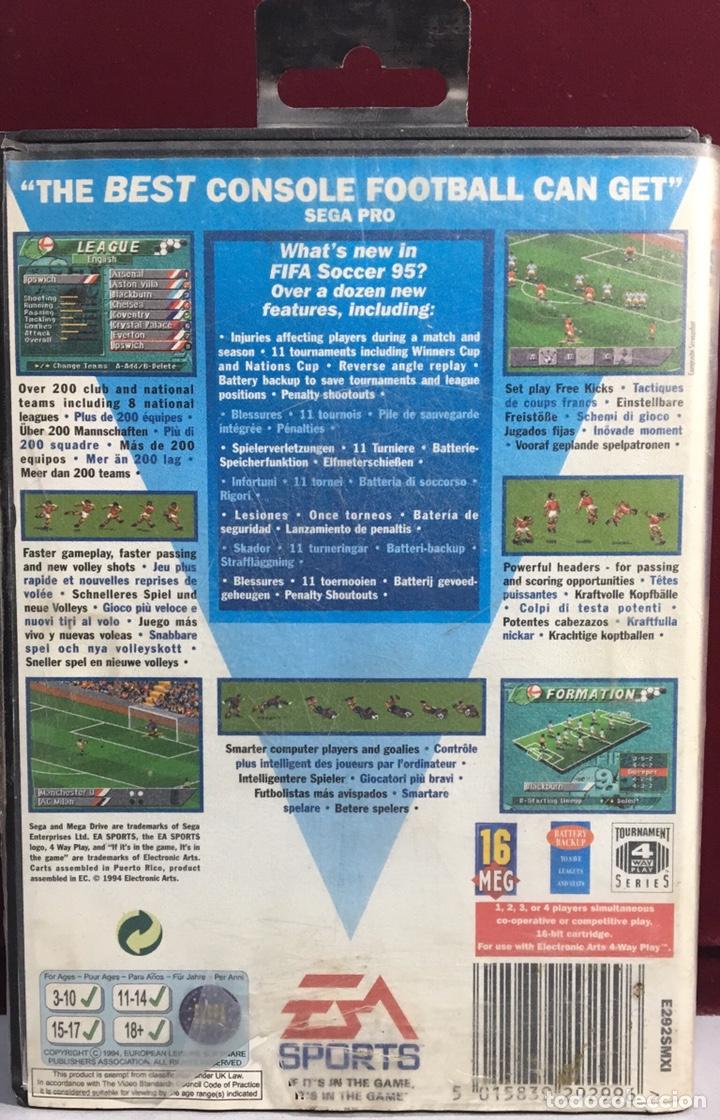 Videojuegos y Consolas: MEGADRIVE FIFA 95 SIN MANUAL - Foto 2 - 160332792