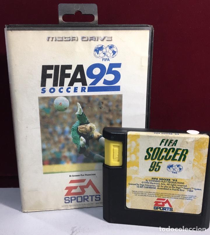 Videojuegos y Consolas: MEGADRIVE FIFA 95 SIN MANUAL - Foto 3 - 160332792
