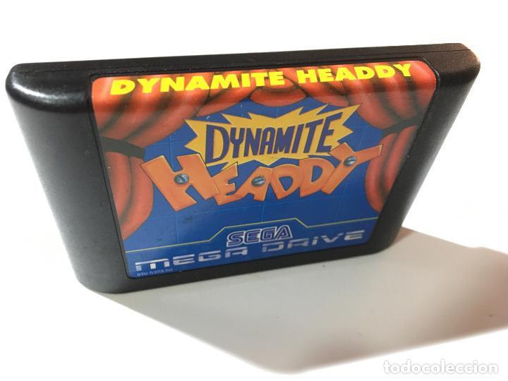 JUEGO CARTUCHO DE LA CONSOLA SEGA MEGA DRIVE MEGADRIVE DYNAMITE HEADDY (Juguetes - Videojuegos y Consolas - Sega - MegaDrive)