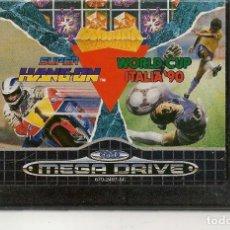 Videojuegos y Consolas: SUPER HANG ON / WORLD CUP ITALIA´90. SEGA MEGA DRIVE. SOLO CARTUCHO. (RF.MA)Ñ. Lote 162621382