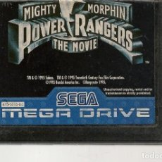 Videojuegos y Consolas: POWER RANGERS. THE MOVIE. SEGA MEGA DRIVE. SOLO CARTUCHO. (RF.MA)Ñ. Lote 162622094