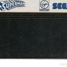 Videojuegos y Consolas: SUPERMAN THE MAN OF STEEL. SEGA . SOLO CARTUCHO. (RF.MA)Ñ. Lote 162629254