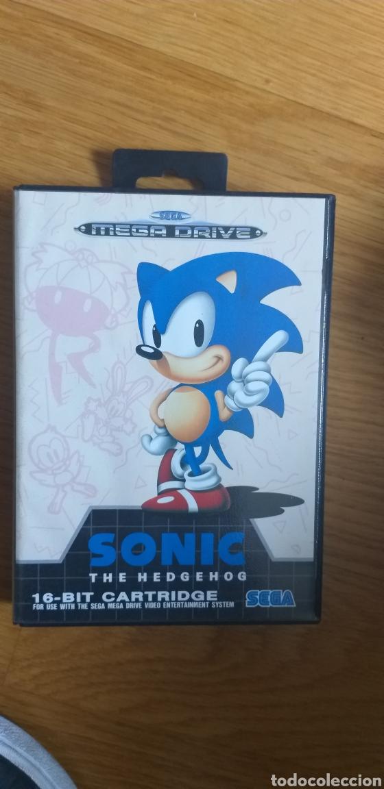 ANTIGUO JUEGO SONIC MEGA DRIVE (Juguetes - Videojuegos y Consolas - Sega - MegaDrive)
