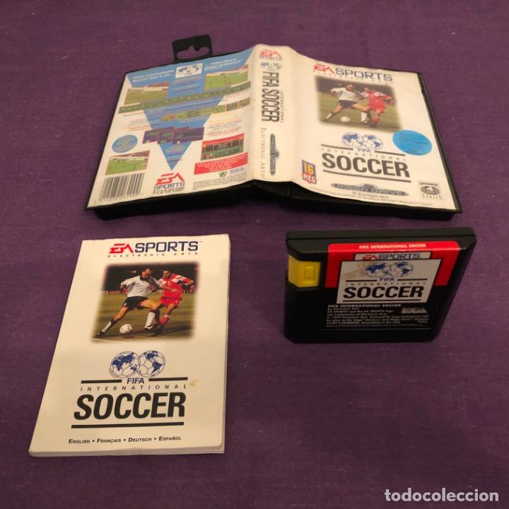 JUEGO FIFA INTERNACIONAL SOCCER SEGA MEGADRIVE (Juguetes - Videojuegos y Consolas - Sega - MegaDrive)